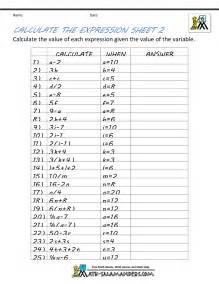 Algebra Beginner Worksheets Basic Algebra Worksheets