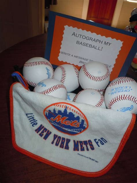 New York Mets Baseball Baby Shower Party Ideas  Photo 4