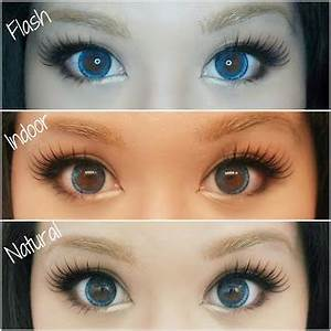 My Darling Rainbow: Ice Blue, E.O.S Circle Lenses~ Review