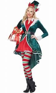 Tenue De Pere Noel : costume lutin no l femme v20045 ~ Farleysfitness.com Idées de Décoration