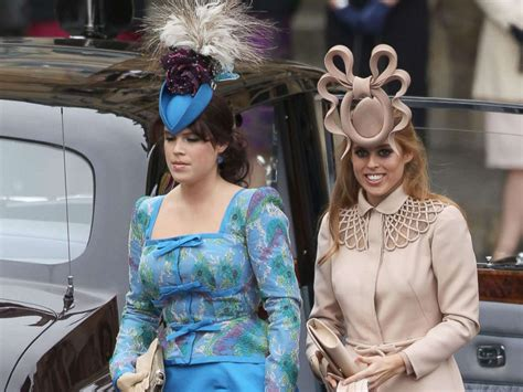 Princess Beatrice Didn't Wear a Hat to Princess Eugenie's Royal Wedding