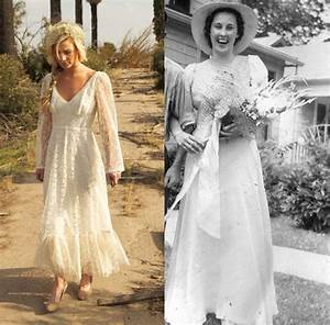 8 vintage wedding dress styles any girl can wear With rustic vintage wedding dresses