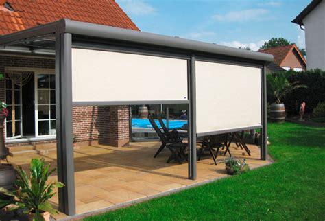Fenster Mit Automatischem Sichtschutz by Terrassen 252 Berdachung Mit Sonnenschutz Beste Sichtschutz
