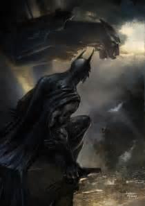 Batman Signal Painting