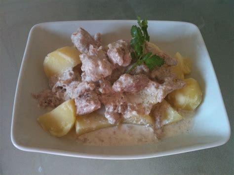 la cuisine de mes envies cassolette de thon express à la crème fraîche la cuisine