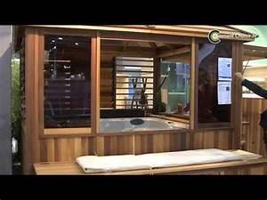 Construire Un Sauna : clair azur construire un gazebo pour un spa youtube ~ Premium-room.com Idées de Décoration