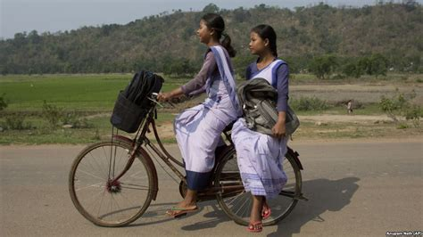 pedal power  girls  school  india kenya