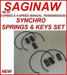Saginaw Transmission Synchro Springs  U0026 Keys Complete Set