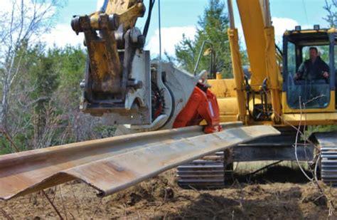 grizzly multigrip vibrator pile driver excavator attachments
