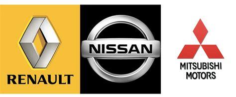 renault nissan logo mitsubishi joins the renault nissan alliance zigwheels forum