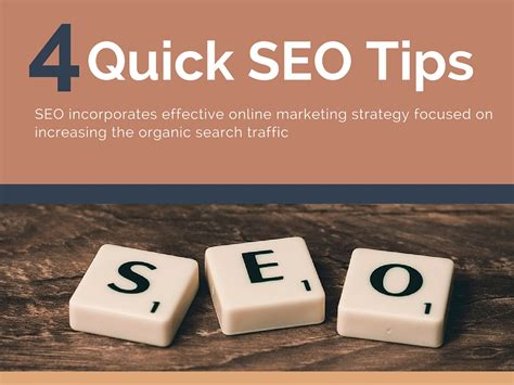 Seo Strategy Guide by 4 Seo Tips Guide To Improve Website Traffic Yodiz