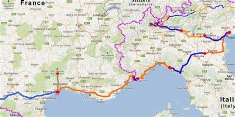 Carte Sud De Et Italie by Carte Italie Arts Et Voyages