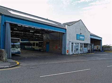 filearriva bus depot  loftus north yorkshire  october jpg wikimedia commons