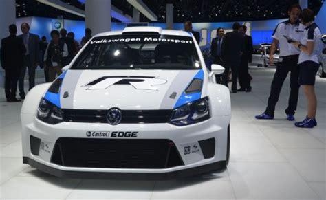 Volkswagen Polo R WRC - 300 horsepower rally car