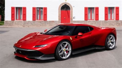 Ferrari Reveals Oneoff Sp38 Supercar  Ctv News Autos