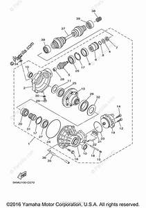 Yamaha Atv 2005 Oem Parts Diagram For Front Differential