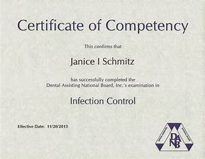 competency certificate templatecompetency qualification With competency certificate template