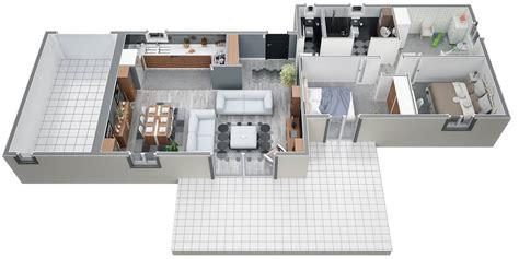 plan de maison 100m2 3 chambres modèle de construction traditionnelle de 90m2 de plain