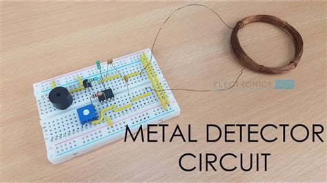 Simple Metal Detector Circuit Youtube