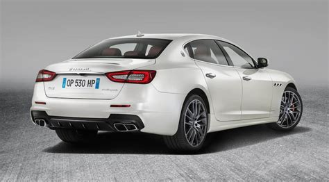 Maserati Quattroporte 2017, Subtiles Améliorations