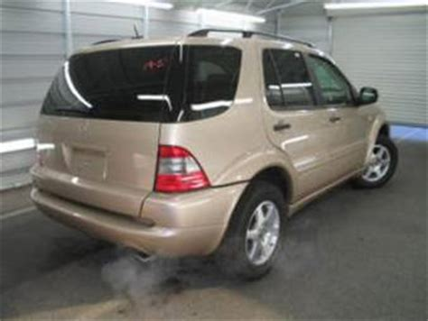 The very best way to ensure you're getting the correct specs is to download the owner's manual which should contain all the information you need, including full specifications of. 2001 Mercedes Benz ML320 specs: mpg, towing capacity, size, photos