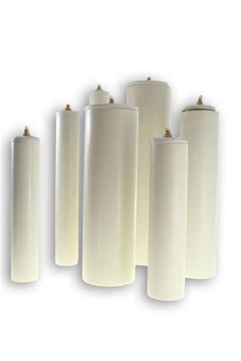 cera candela candela in pvc con contenitore cera liquida altezza cm