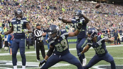 seahawks epic  zone celebrations create pressure