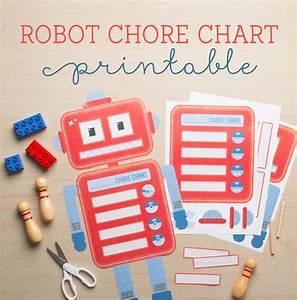 Free Robot Chore Chart Printables Tinyme Blog