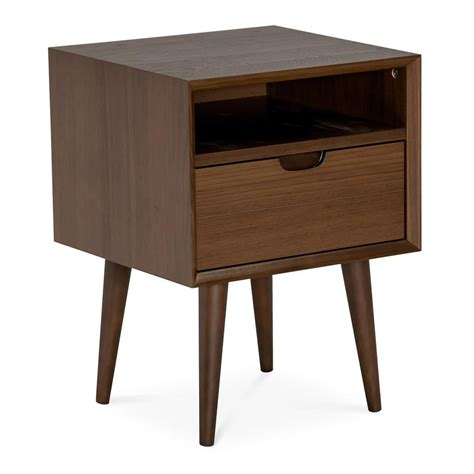 Beech Nightstand by Side Tables Bedside Tables Side Tables The