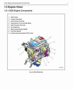 Detroit Diesel Engine Dd5 Medium Duty Pdf Workshop Manual