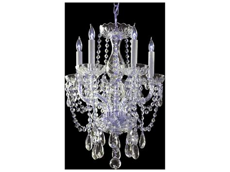 5 light crystal chandelier crystorama traditional crystal five light 14 39 39 wide mini