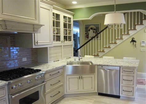 marvelous apron front sink in kitchen traditional with
