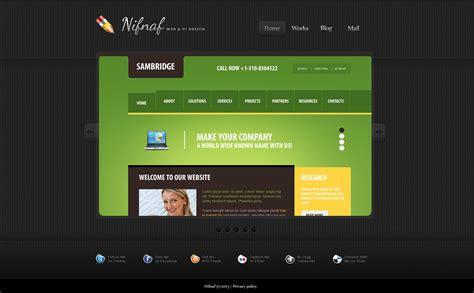 simple website design simple web design portfolio joomla template 45871