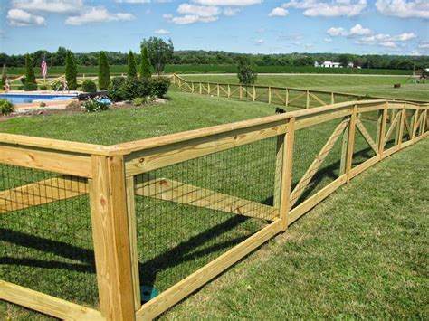 Cheap Fencing Ideas For Dogs Residential Fence Pet