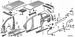 Honda Odyssey Under Body Diagram