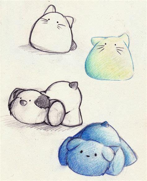 cute animal drawings  pinterest fun  draw simple