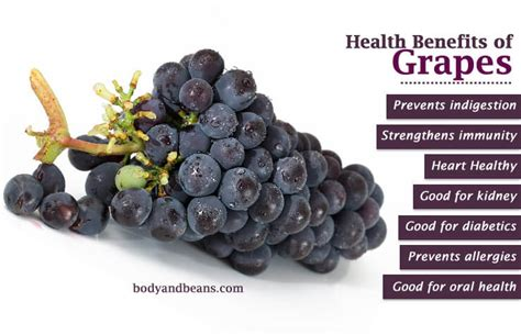 10 Amazing Health Benefits of Grapes Fruit and Juice ...