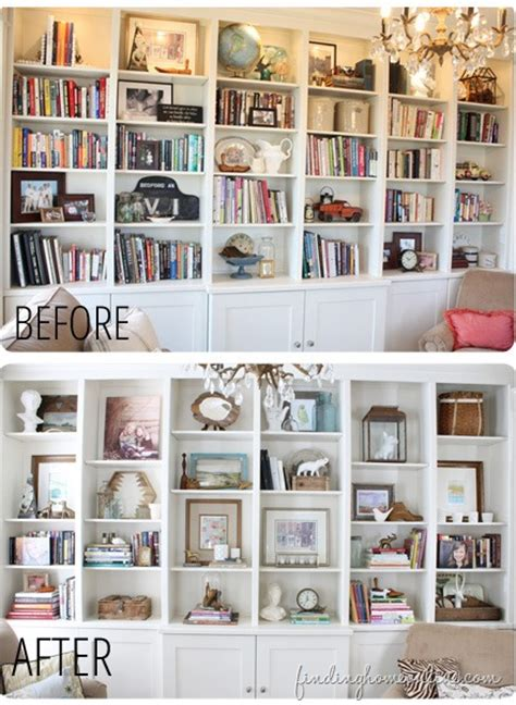 Decorating Bookshelves Without Books by Lessons Learned In Styling A Bookcase Finding Home Farms
