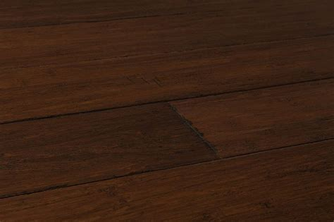 Yanchi Wide Plank Distressed T&G Solid Strand Woven Bamboo
