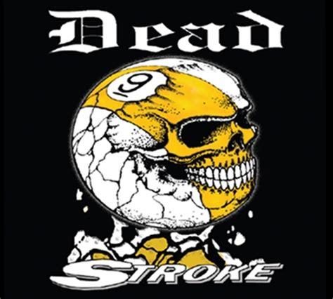 dead stroke pool  shirt  ball skull muellers