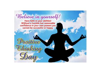 Yourself Believe Positive Thinking Cards Greeting Card