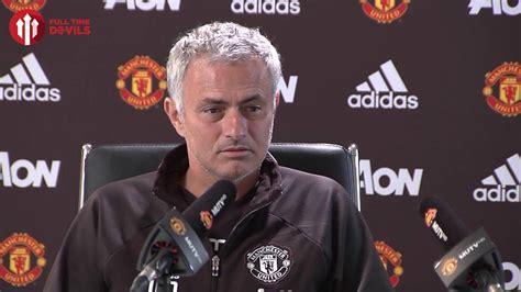 Jose Mourinho Press Conference! Liverpool Vs Manchester