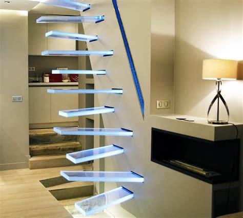 escalier en verre par frederic hamerlak deco design