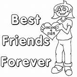 Friendship Coloring Friends Pages Forever Friend Printable Colouring Quotes Ever Bff Sheets Heart Cards Quotesgram Worksheets Adult Usage Any Popular sketch template