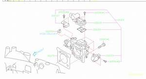 16175aa223 - Gasket-intake Manifold  Chamber  Throttle  Engine  Cooling