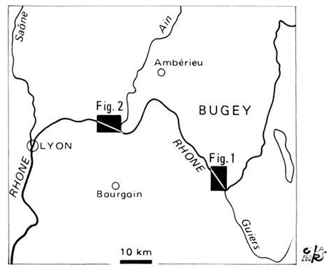 Carte Fluviale Haut De by A Propos De Quelques Formes Fluviales De La Vall 233 E Du Haut