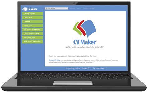 Free Cv Maker Software by Cv Maker Search Business Card Software 25 Mac Pc