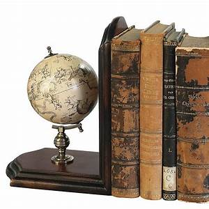 Globe Bookends By Me And My Car