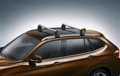 bmw roof rack bmw genuine roof rack base support system bars e84 x1