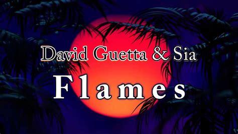 Flames David Guetta & Sia Piano Akkoorden